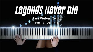 Legends Never Die: Remix (ft. Alan Walker) - League of Legends   Piano Cover by Pianella Piano