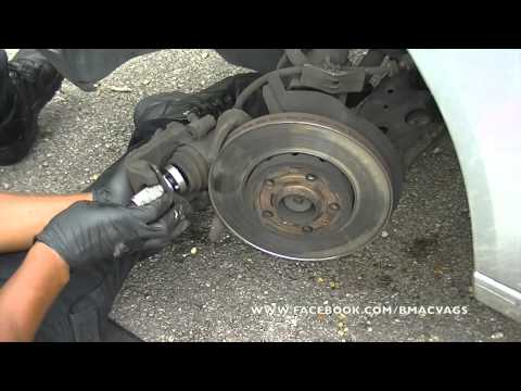 How to change Brake Pads & Rotors on a VW Polo