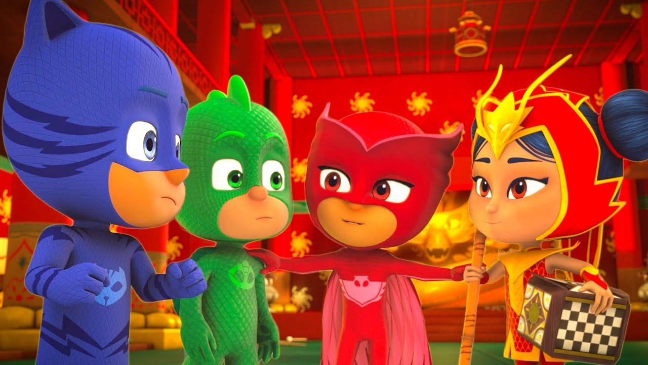 PJ Masks em Português ⭐️ Melhores Amigos ⭐️  Desenhos Animados