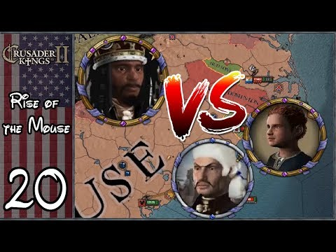 Crusader Kings 2: After the End #20 - Americanist Civil War!