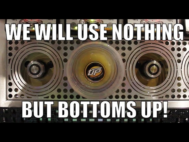 We will use nothing but Bottoms Up Draft Beer Systems!  Fowling Bottoms Up Testimonial