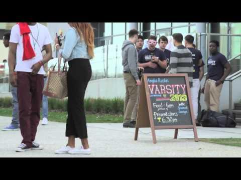 Anglia Ruskin University - Being Here