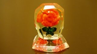 'Роза' в оргстекле-2. Изготовление. Rose in plexiglass . Production