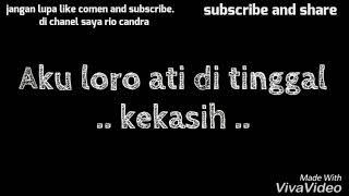 Story WA terbaru Dengan lagu jerit atiku via vallen cover gamelan