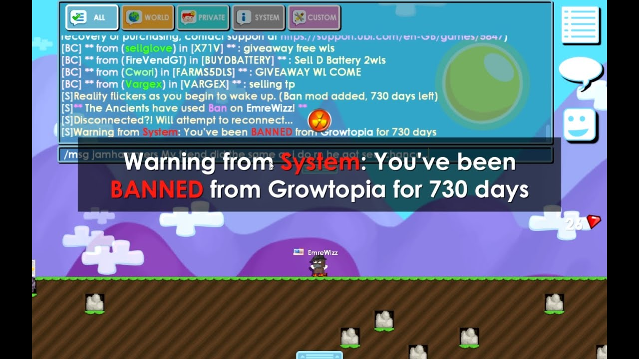 How To Unsuspend Account Growtopia In Android By Alitbaskara
