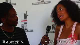 Amel Larrieux Interviews with ABlackTV | Talks Mike Brown, Ferguson and a passion for Yoga