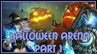 Hearthstone: Halloween arena part 1/2