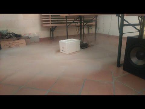 Bodennebel mit normaler Nebelmaschine selber machen-Fog Chiller/Bodennebelkühler selber bauen