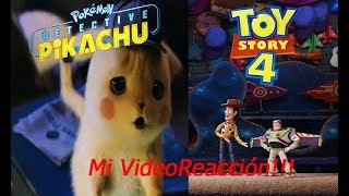 ¡Reaccionando al Trailer de Detective Pikachu y Toy Story 4! - Video Reacción