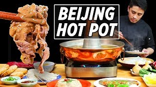 Beijing Style Hot Pot Heaven 老北京火锅 • Taste The Chinese Recipes Show