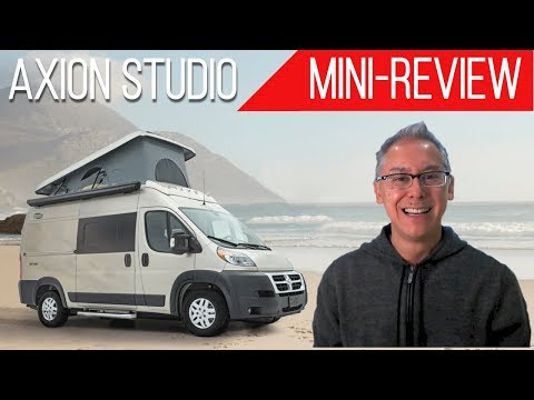 Mini-Review | Carado Axion Studio | Affordable Pop-top Camper Van That's Only 17 Feet in Length!