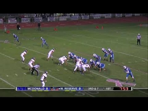 Western Reserve scores in final minute to edge McDonald