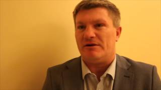 RICKY HATTON BREAKS DOWN SAUL 'CANELO' ALVAREZ v AMIR KHAN - INTERVIEW FOR IFL TV