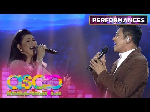 Regine and Gary V's world class sing off on ASAP Natin 'To   ASAP Natin 'To