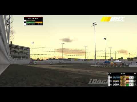 WSS #iRacing #speedway #sprintcars. - dirt track racing video image