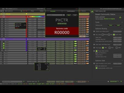 Steam Trader Helper - STH - Расширение для Заработка на Торговой Площадке Steam