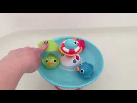 d117565f705928 Review: Musical Duck Race bath toy from Yookidoo - YouTube