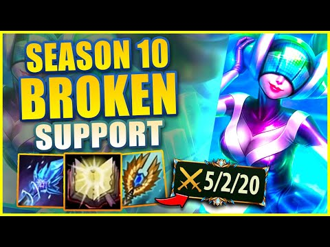 SONA IS BY FAR THE BEST SUPPORT OF SEASON 10 (THE PERFECT PICK) - League of Legends