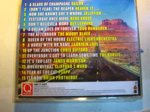 TAKE IT EASY Q MAGAZINE PLAYLIST COMPILATION CD