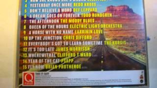 TAKE IT EASY Q MAGAZINE PLAYLIST COMPILATION CD
