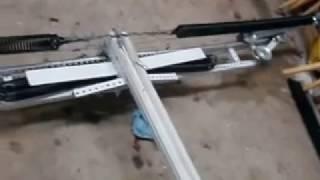 Homemade Crossbow From Garage Door Parts