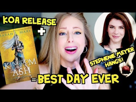 THE 1ST AGAIN BUT BETTER ARC & STEPHENIE MEYER HANGS | BEST DAY EVER
