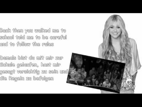 Hannah Montana - Been Here All Along  W/Lyrics