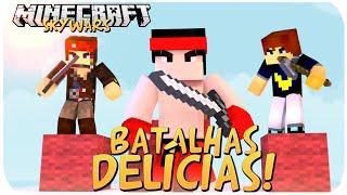 SKY WARS: BATALHAS DELÍCOSAS!! - ft. VirosGamer // PedroDBR