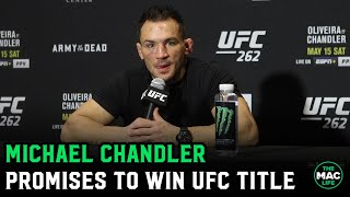 "Michael Chandler reacts to Charles Oliveira defeat: ""I will be UFC champion by the end of my career"""