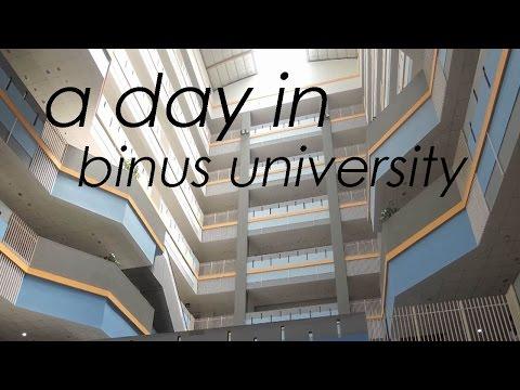 A Day in Binus University | Meutia Rahma