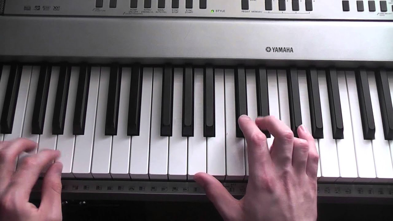 how to play coldplay on piano