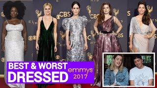 BEST AND WORST DRESSED - EMMYS 2017