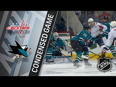 03/10/18 Condensed Game: Capitals @ Sharks