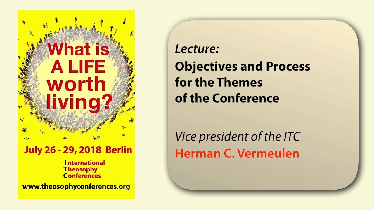 ITC2018-06: Objectives and Process for the Themes of the Conference