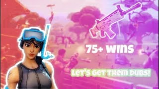 Fortnite Battle Royale (Lets Get Them Dubs) Playing With a Free To Play