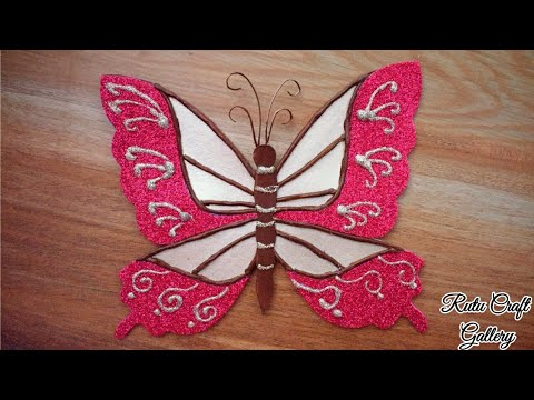 How to Make Easy Paper Butterflies for Wall Decorations | Butterfly Wall Decor | DIY| #artmypassion