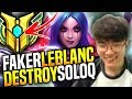 Faker Destroying SoloQ with Leblanc! - SKT T1 Faker Picks Leblanc Mid! | SKT T1 Replays