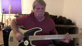 The Fixx - Saved By Zero - Bass Cover