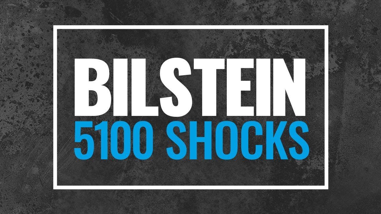 Bilstein 5100 Shocks for Lifted Trucks, 5100 Bilstein Shock
