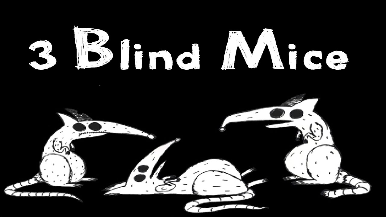 analysis of 3 blind mice Medicine researchers have discovered a chemical that temporarily restores some vision to blind mice,  order, analysis, and contact.