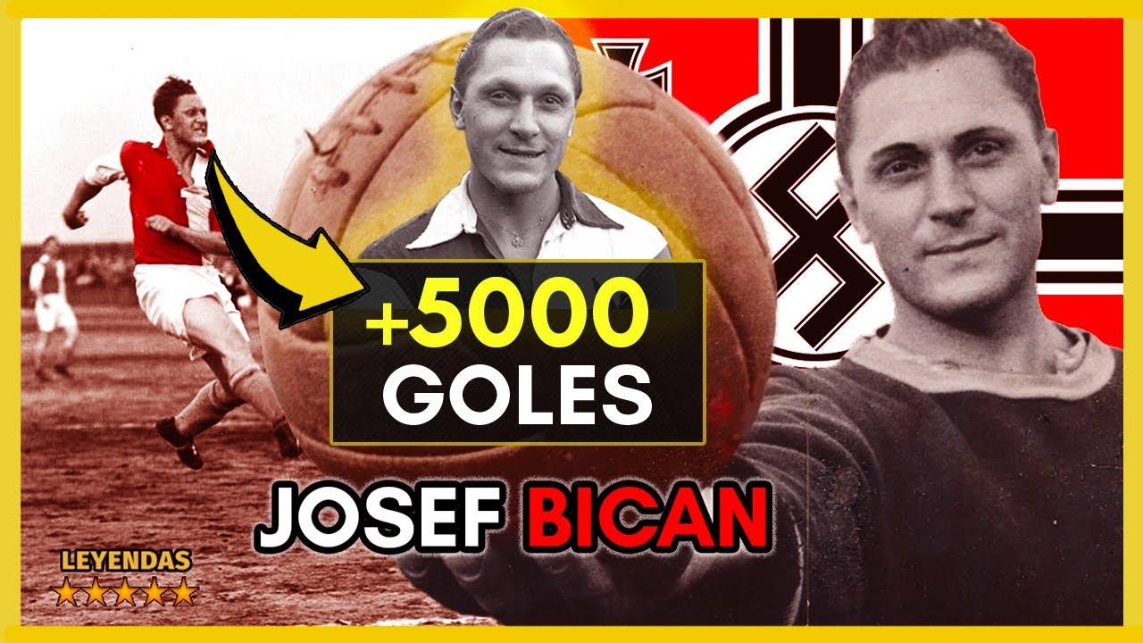 Josef BICAN ⚽️🔝 El MÁXIMO GOLEADOR de la HISTORIA del Fútbol que Supera a CRISTIANO RONALDO
