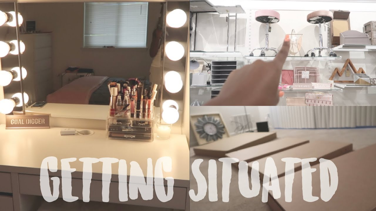 College Vlog 50 Getting Situated In My New Apt