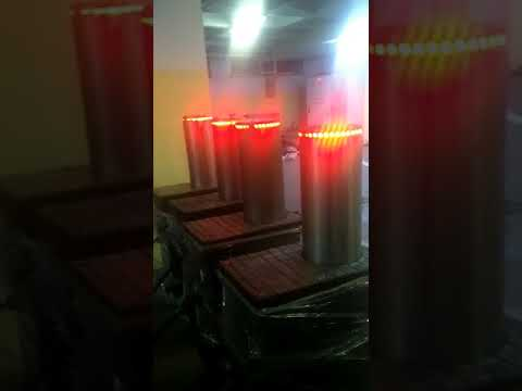Hidrolik Mantar Bariyer-Hydraulic Rising Bollards (Fabrika Test Aşaması)