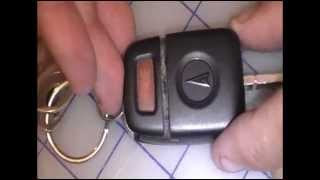 How to Replace Change a Battery for a Pontiac G8 Key Fob Car Remote