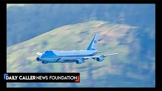 Did You Miss C-Span's Epic Video Of Airforce One Arriving At Mount Rushmore?