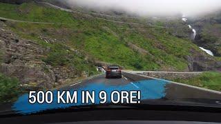 500km in 9 ore tra fiordi e la strada dei troll! Giorno 7 thumbnail