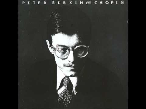 PETER SERKIN plays CHOPIN 6 Nocturnes (1978-1981)