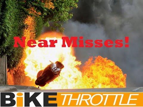 Isle of Man TT Road Racing CRASHES Close Calls and Near Miss Compilation DriveTribe Drive Tribe