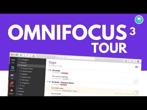 OmniFocus 3 in