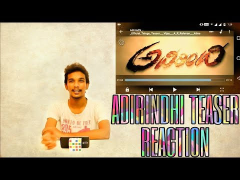 ADIRINDHI (Mersal) Official Telugu Trailer...